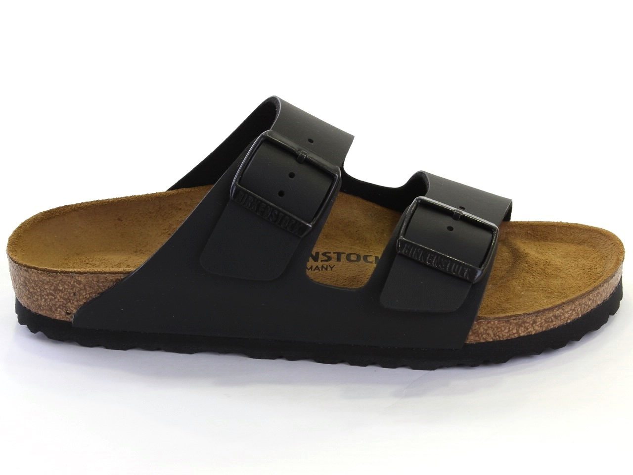 Flat Sandals Birkenstock - 663 ARIZONA BLACK