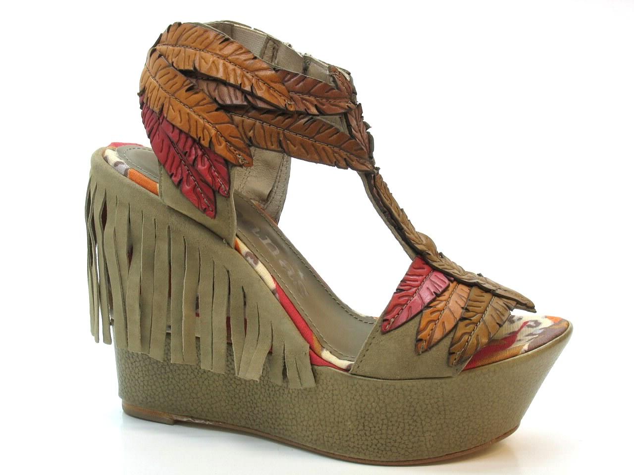Wedge Sandals Cubanas - 334 SLIM330