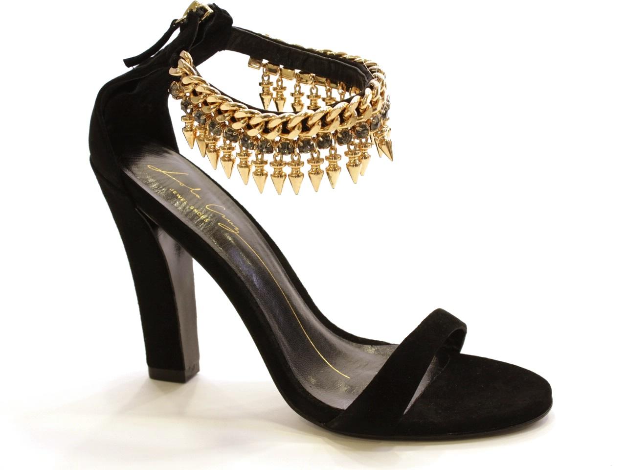 Sandales à talons Lola Cruz - 622 363Z30BK